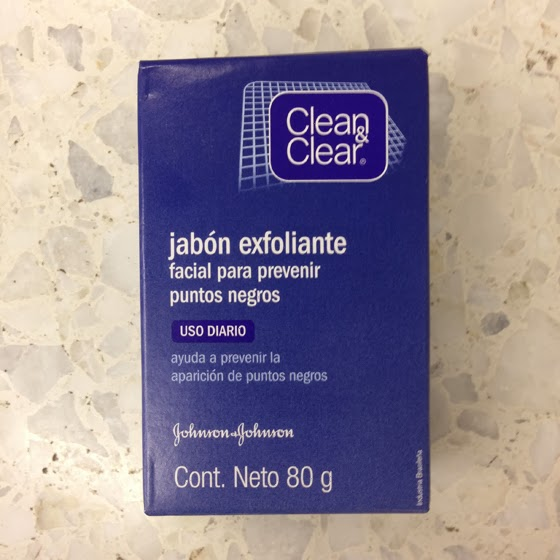 Clean and clear jabon exfoliante