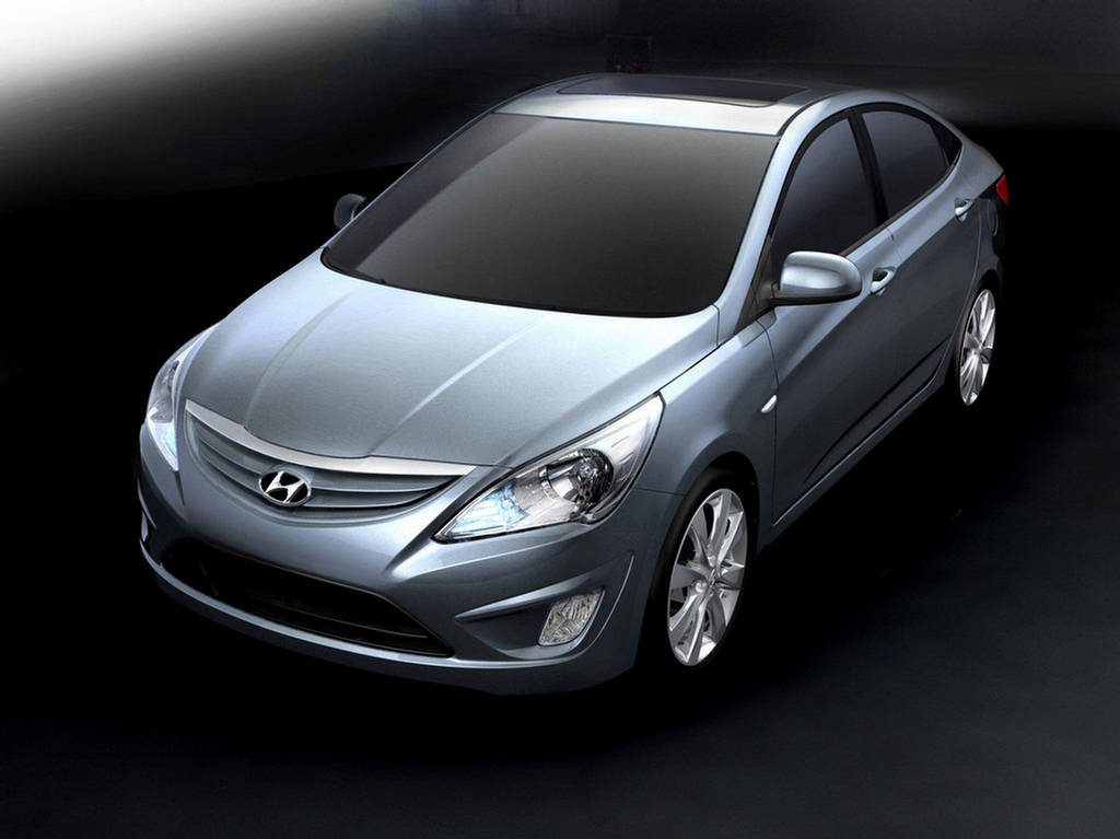 Hyundai Verna Fluidic India 2012 Car Wallpapers