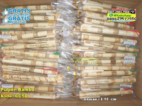 Pulpen Bambu unik