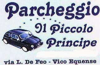 """Parcheggio """"Il Piccolo Principe"""""""