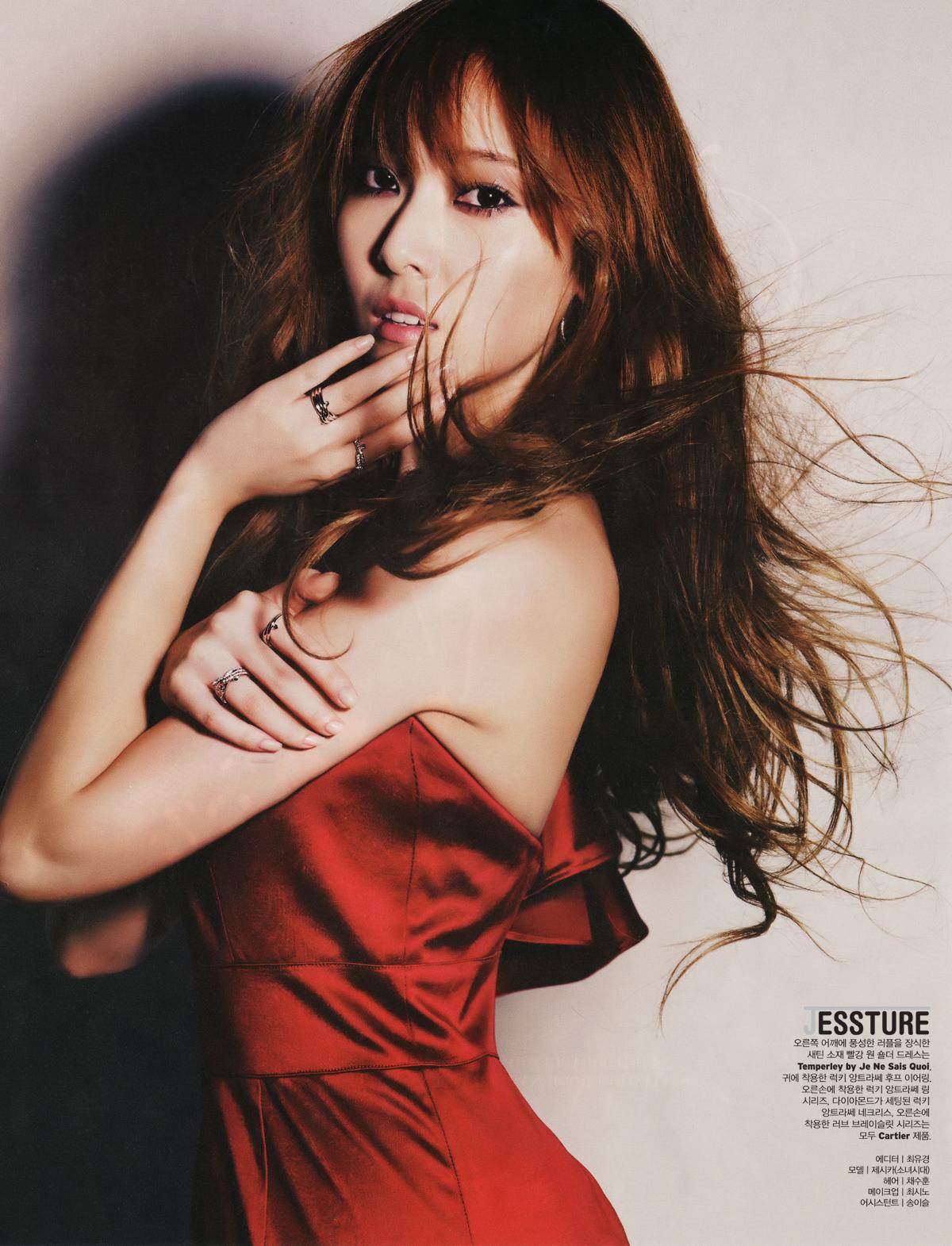 SNSD Jessica W Korea Magazine