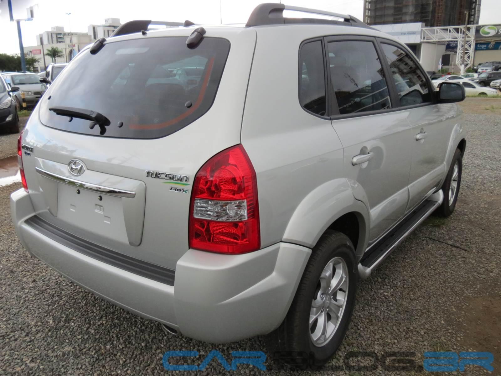Hyundai Tucson 2013 Flex Automático: preço, consumo, fotos e ficha