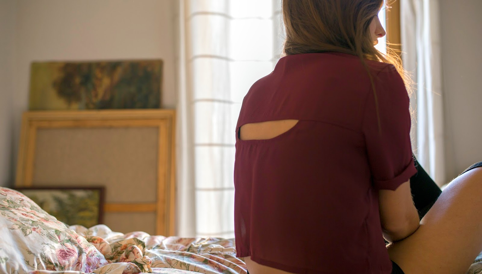 Ada Barcelona samarreta esquena a l'aire
