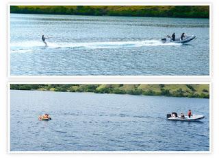 water ski in komodo island, komodo island adventure
