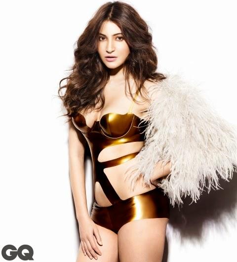 Anushka Sharma Heat It Up in GQ India
