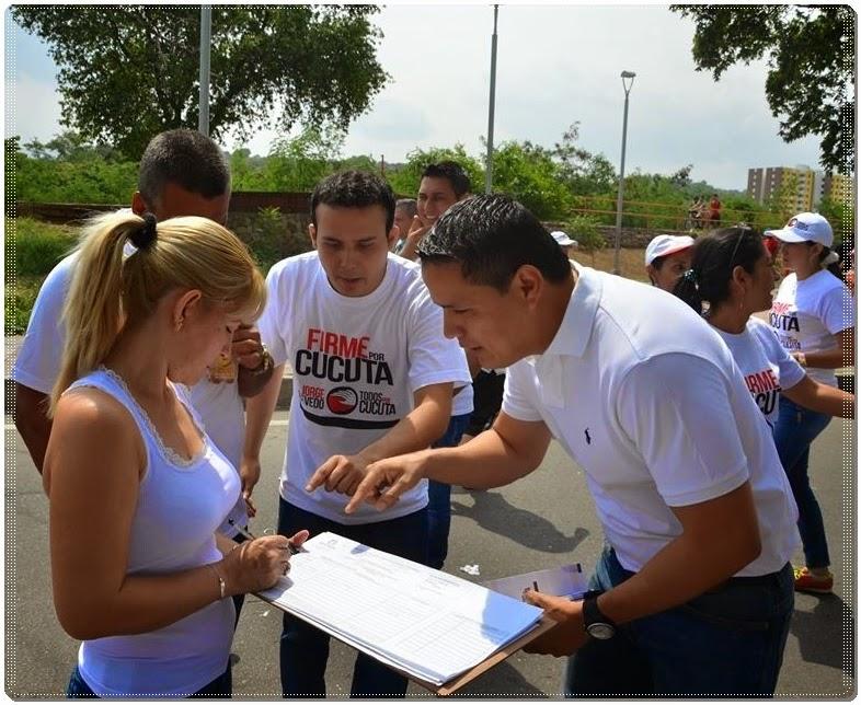 [Fotos] Jorge Acevedo Alcalde comparte con la gran familia de 'Todos por Cúcuta'