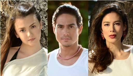 Angelica, Piolo and Angel new triangle in Apoy Sa Dagat