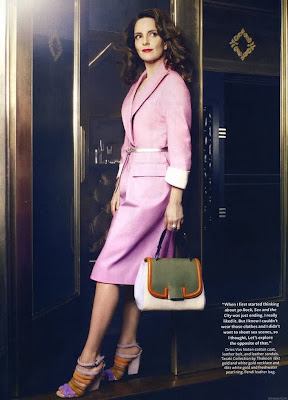 Tina Fey Instyle Us Magazine Photoshoot April 2011