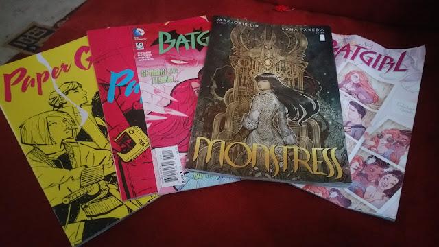 Paper Girls, Monstress, Batgirl