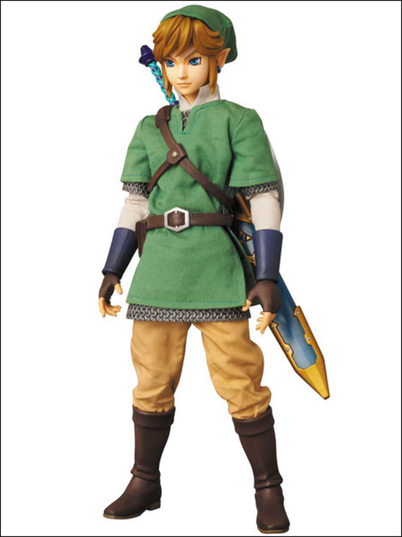 Zelda the skyward sword-Link Medicom_RAH_Skyward_Sword_Link_01