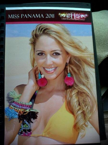 Miss Panama Earth 2011,marelissa betancourt