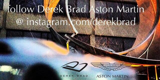 Where is Derek Brad's Aston Martin?