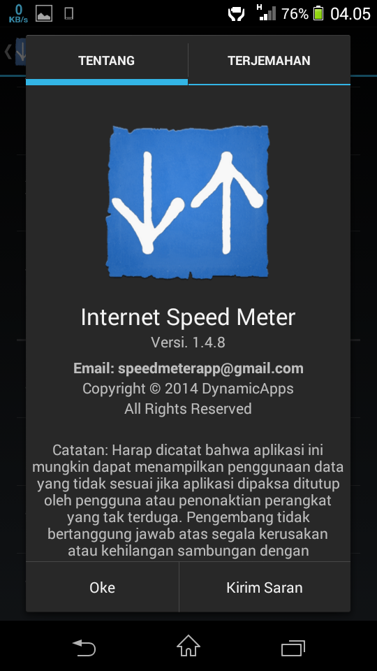 Internet Speed Meter free Download