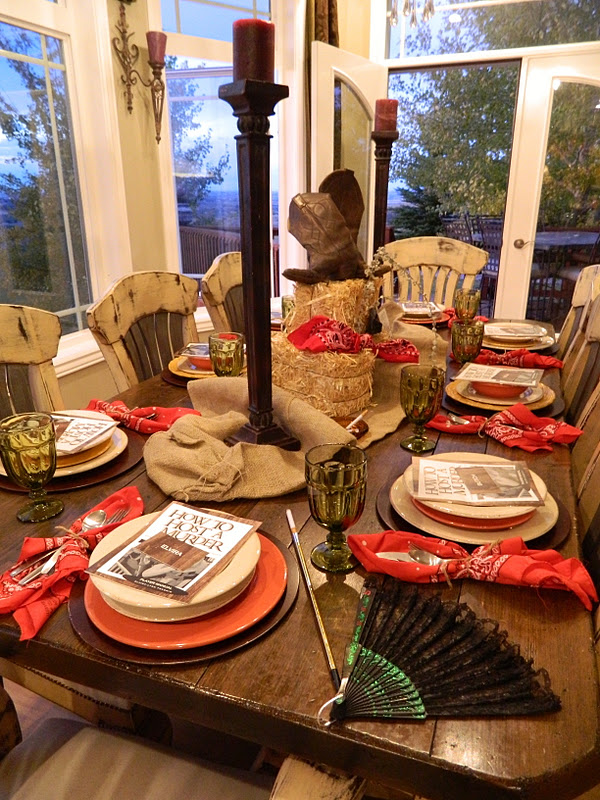 Trisa co designs events western murder mystery for Secret dinner party
