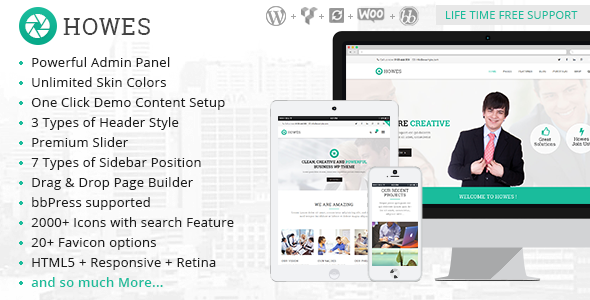 New WordPress Theme