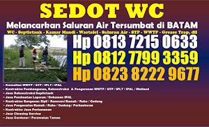 Jasa Sedot WC di Kota Batam hp 081372150633