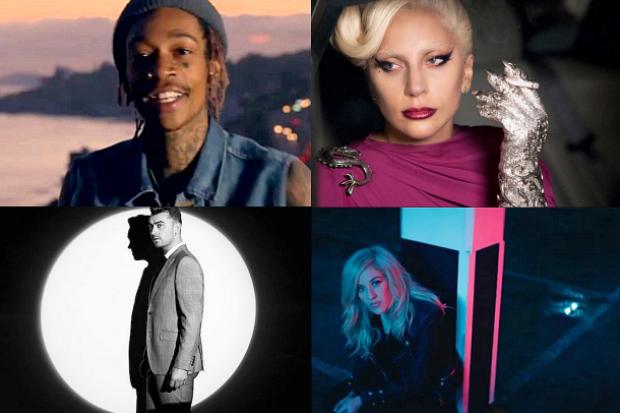 Lady Gaga, Ellie Goulding, Wiz Khalifa, Sam Smith y más, son nominados al Globo de Oro 2016.