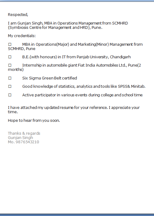 Thesis findings and analysis sample
