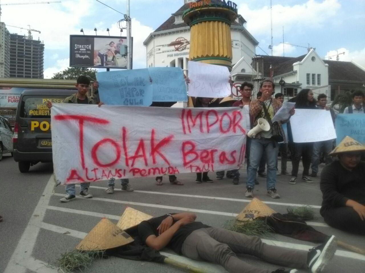 Aliansi Pemuda Tani Demo, Minta Menteri Pertanian Segera Dicopot