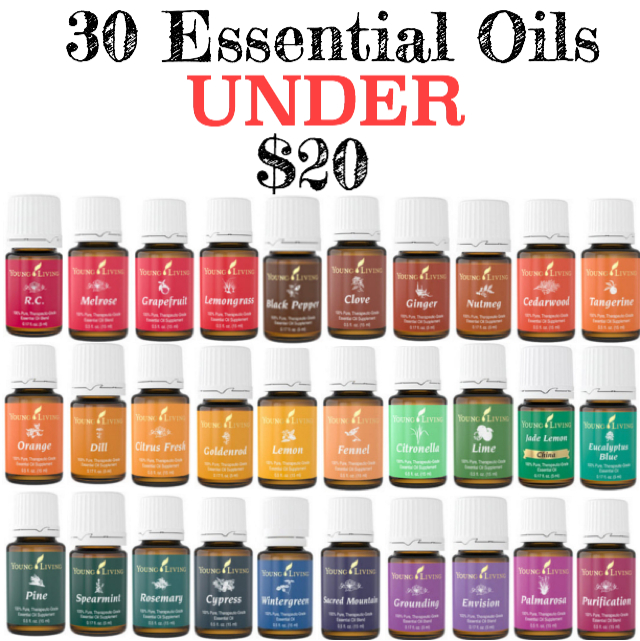 Just Around The Corner 30 Essential Oils Under 20