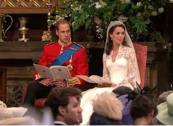I'm watching the royal wedding too!