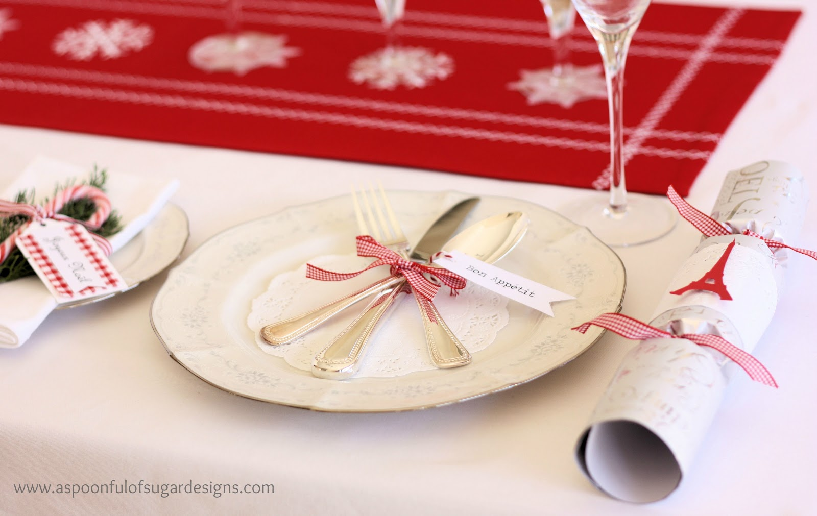 Our Christmas Table & Our Christmas Table - A Spoonful of Sugar