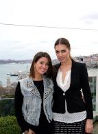 Mango defilesi icin Istanbul'a gelen AMBER LEE BT Blog'a konuk oldu!
