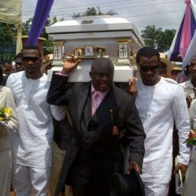 Mother Of P-Square, Josephine Okoye, Buried Yesterday In Anambra State