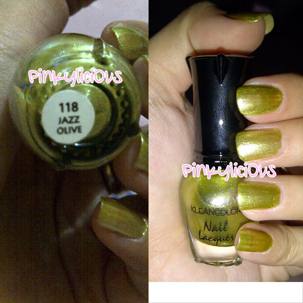 Pinkylici0us: REVIEW KleanColor Green Addicts Nail Lacquer Mini ...