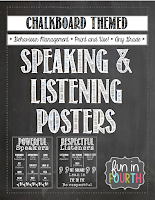 https://www.teacherspayteachers.com/Product/Speaking-and-Listening-Posters-Chalkboard-Themed-824277