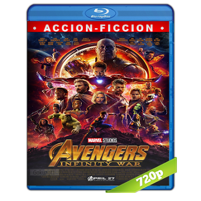 Avengers Infinity War (2018) BRRip 720p Audio Dual Latino-Ingles 5.1