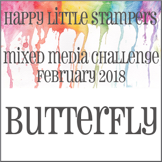 HLS February Mixed Media Challenge до 28/02