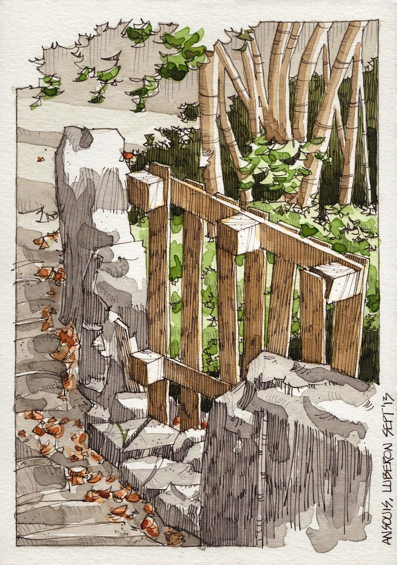21-Ansouis-Palet-Jorge-Royan-Drawings-Sketches-of-Travel-Logs-www-designstack-co