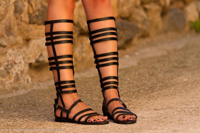 BLog Adicta a los zapatos con sandalias romanas de tiras