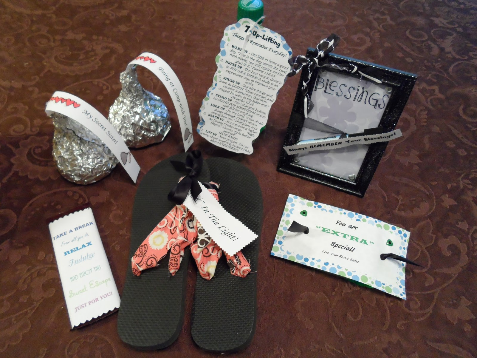 The Simple Nickel 8 Secret Sister Gift Idea