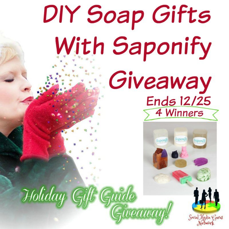 DIY Soap Gifts with Saponify