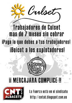 Boicot a Culset SL