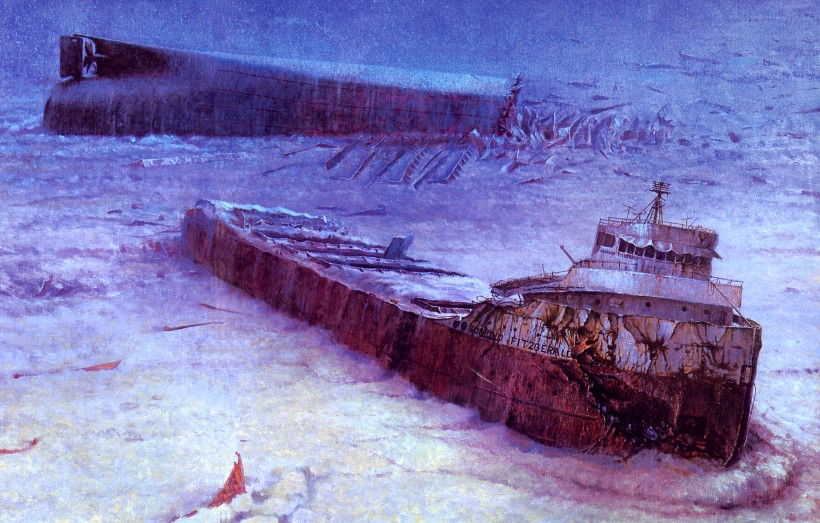 """Today in History: NOVEMBER 10 = The """"Edmund Fitzgerald"""" Sinks"""