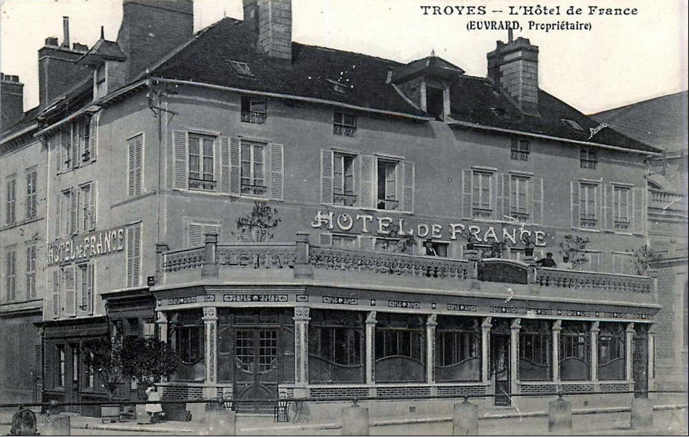 Jrf h tel de france troyes for Hotels troyes