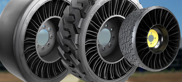 Michelin X Tweel Airless Radial Tires.