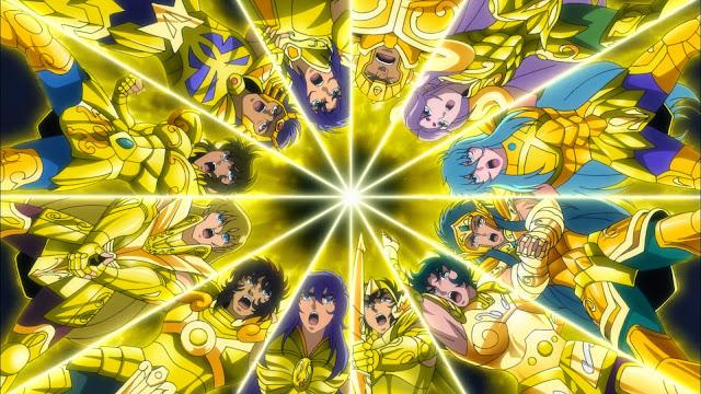 cavaleiros do zodíaco alma de ouro
