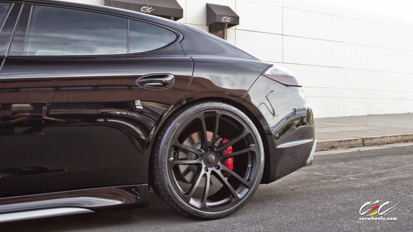 CARACTERE EXCLUSIVE Porsche Panamera Turbo S On CEC Wheels