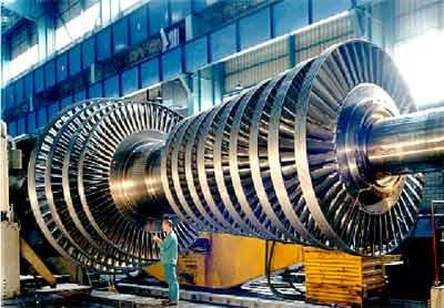 las turbinas de vapor: