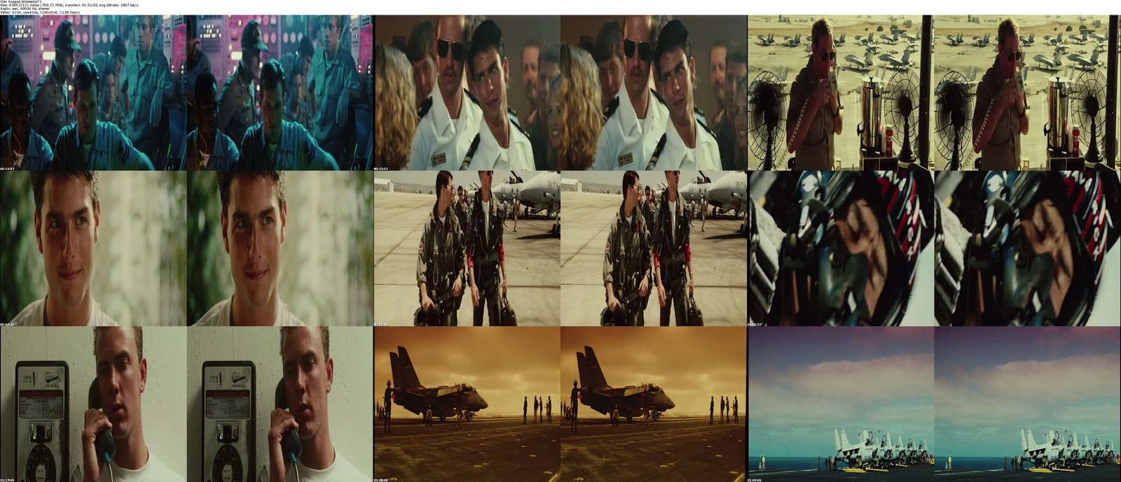 Top+Gun+(1986)+BluRay+720p+3D+Half SBS+800MB+Hnmovies