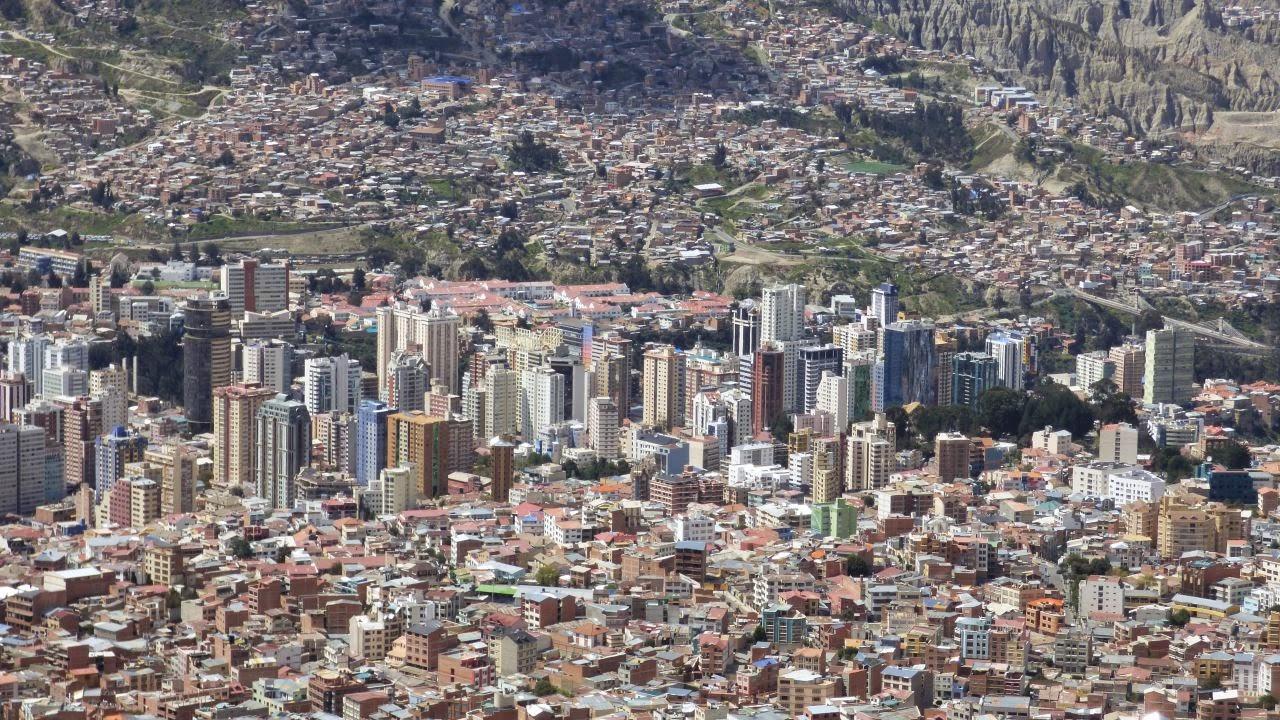täglich grüsst..  La Paz