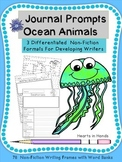 https://www.teacherspayteachers.com/Product/Journal-Prompts-Ocean-Animals-For-PrimaryK-3-1958574