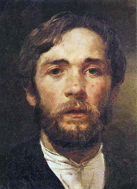 Andrei Petrovich Ryabushkin, Self Portrait, Portraits of Painters