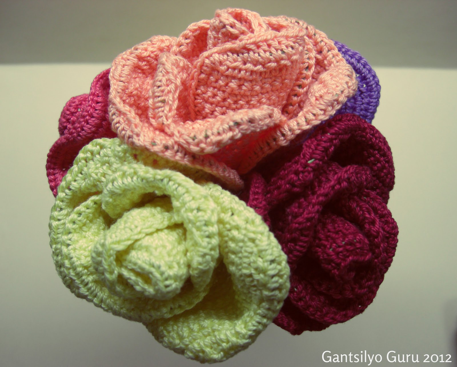 Gantsilyo guru crocheted flower bouquet izmirmasajfo