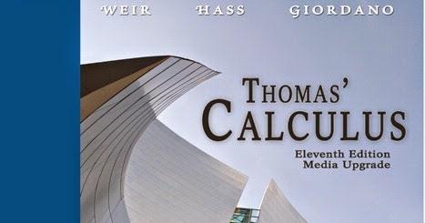 Thomas Finney Calculus 11th Edition Solution Manual Pdf