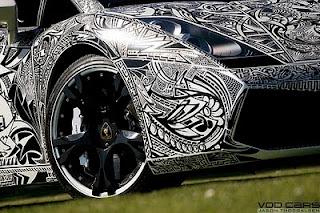 Body Painted Modification of  Lamborghini